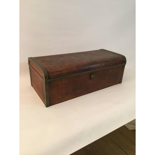 Late 19th Century Mahogany and Brass Strong Box Documents Preview