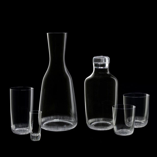 """J. & L. Lobmeyr """"Grip"""" Drinking Set No. 281 Decanter by Marco Dessí For Sale - Image 4 of 6"""