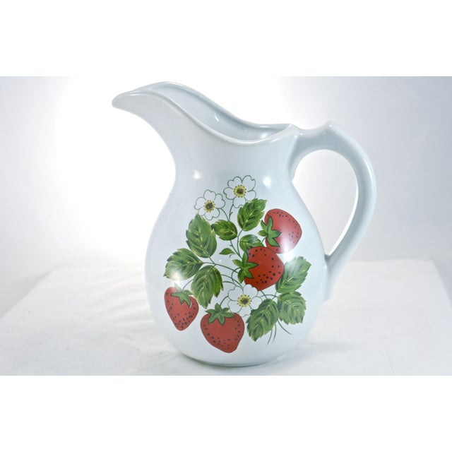 McCoy Strawberry Farmhouse Vase - Image 2 of 6