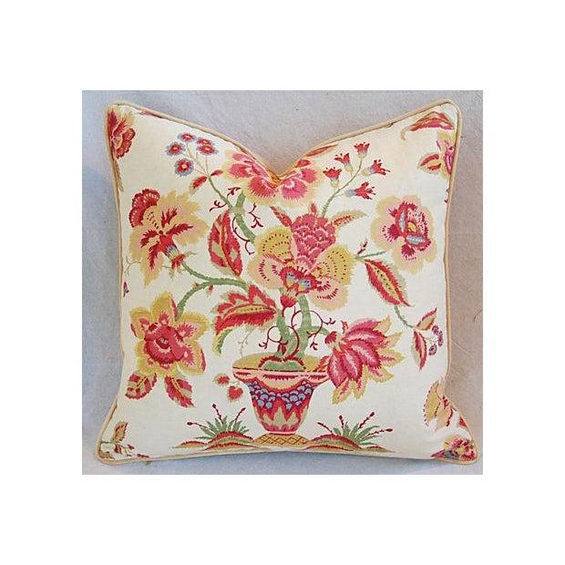 Custom Designer Lee Jofa Pillows - A Pair - Image 3 of 8