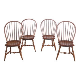 1980s Vintage Warren Windsor Dining Room Chairs- Set of 4 For Sale