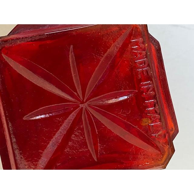 Mid-Century Italian Geometric Sculptural Vase/Decanter For Sale - Image 4 of 5