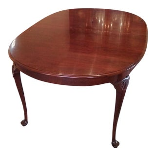 Stickley Queen Anne Dining Table
