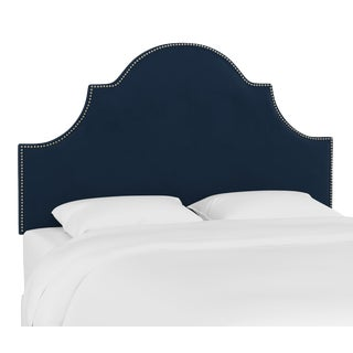 Queen Headboard, Velvet Ink For Sale