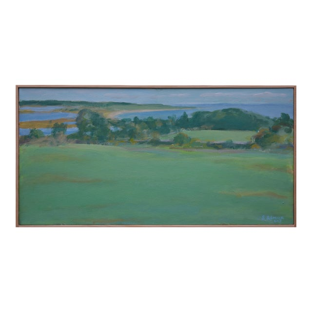 """""""Summer Days"""" Stephen Remick Contemporay Plein Air Painting For Sale"""