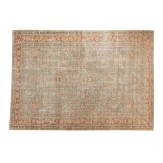 "Vintage Distressed Sivas Carpet - 6'5"" X 9'1"" For Sale"