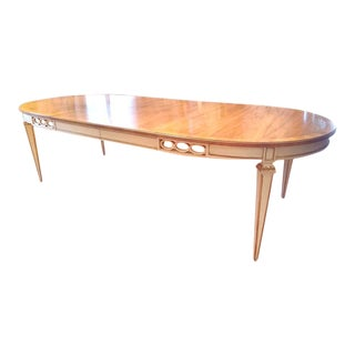 1950's Vintage John Widdicomb French Regency Dining Table For Sale