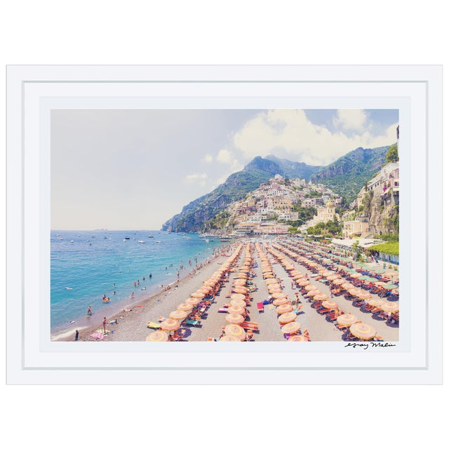 "Gray Malin Large ""Positano Vista"" (La Dolce Vita) Framed Limited Edition Signed Print - Image 2 of 5"
