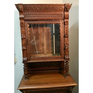 19th Century Belgian Hunt Cabinet Preview