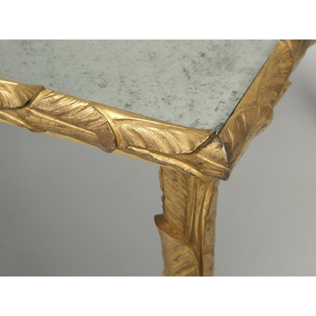 Metal Baguès Solid Bronze Gilt Coffee Table For Sale - Image 7 of 13