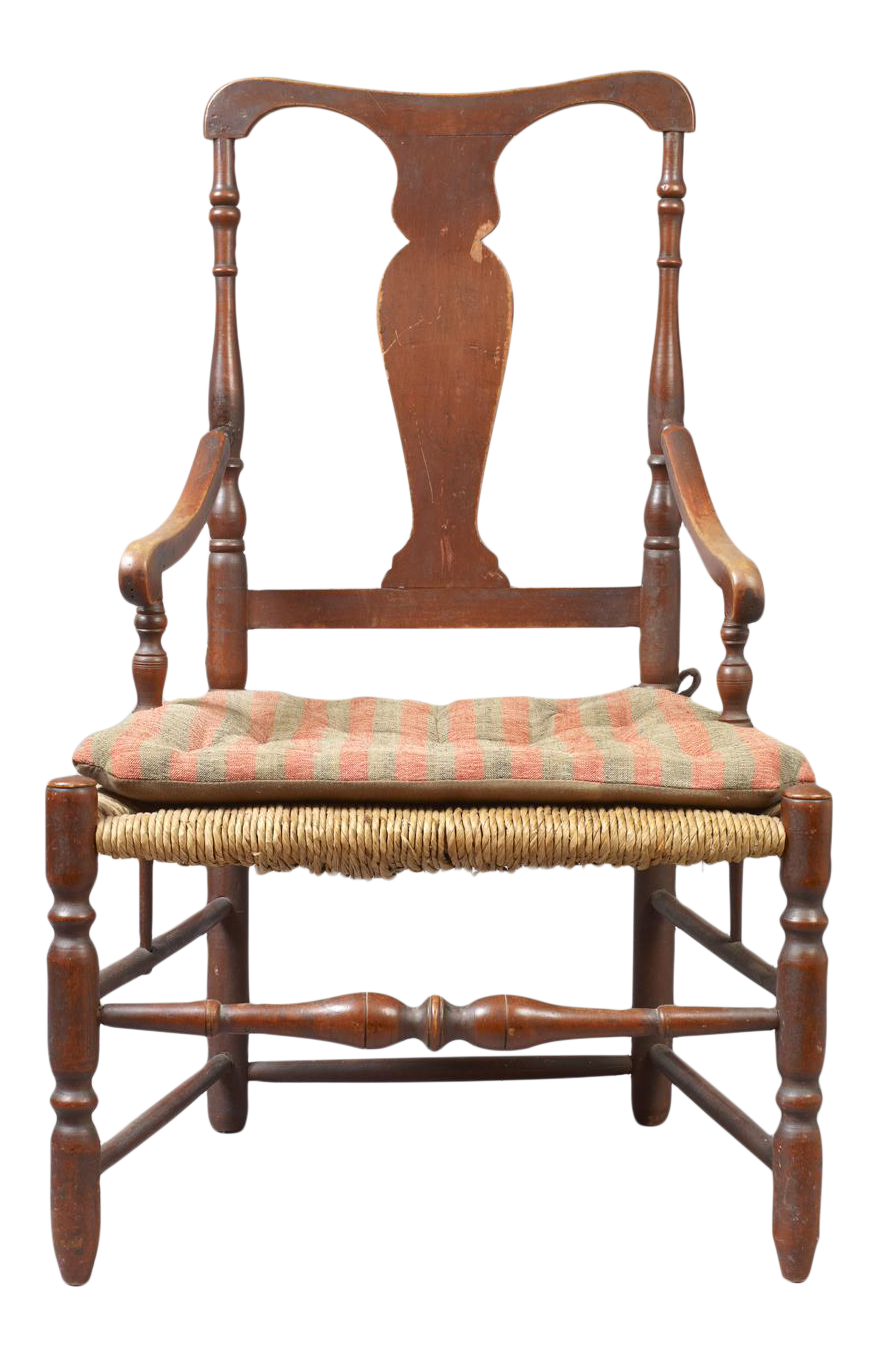 Transitional Queen Anne Armchair  Image 1 Of 3 Queen Anne Armchair Q55