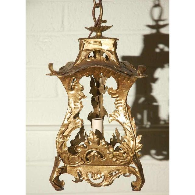 Pair of Venetian Style Tole Lantern Pendants - Image 2 of 8