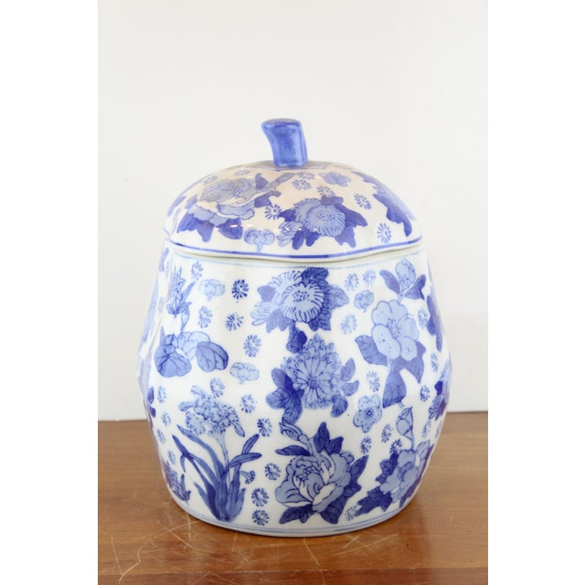 Chinese Canton Gourd Jar For Sale - Image 9 of 9