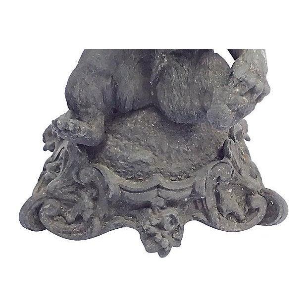 Antique Cast Iron Bear Figurine For Sale In Atlanta - Image 6 of 7