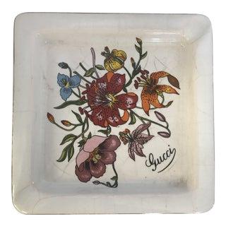Vintage Gucci Ceramic Accornero Ashtray For Sale