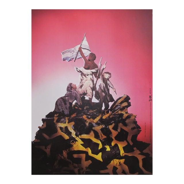 1989 Original Poster for Artis 89's Images Internationales Pour Les Droits De l'Homme Et Du Citoyen - Marianne For Sale