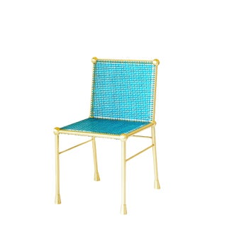 Bc Chair in Solid Brass by Artist Troy Smith - Artist Proof - Contemporary Design Chair For Sale