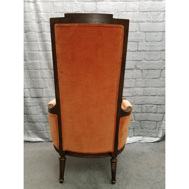 Traditional 1920s Traditional Hibriten Eastlake Style Chair For Sale - Image 3 of 10