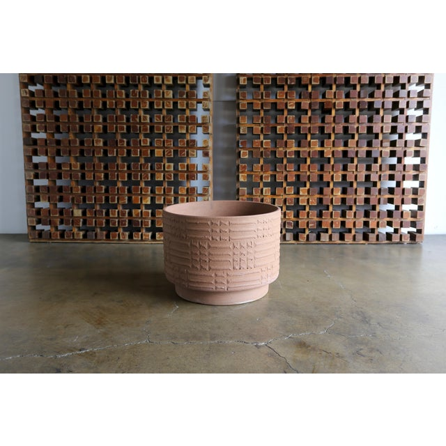 Mid-Century Modern Mid Century David Cressey Staccato Planters - a Pair For Sale - Image 3 of 9
