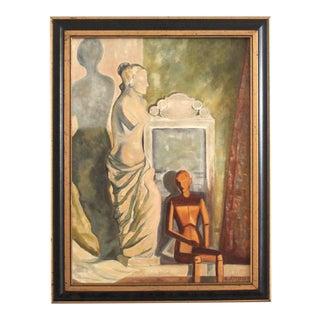 Mid-Century Framed Still Life Painting