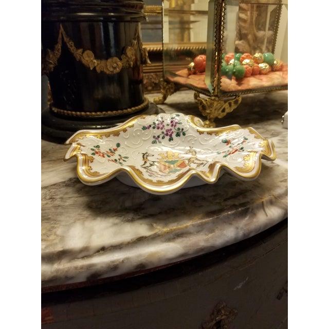 Vintage Samson Armorial Crest Dish For Sale In San Antonio - Image 6 of 8