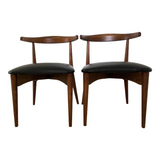 Mid Century Modern Lawrence Peabody for Richard Nemschoff Dining Chairs For Sale