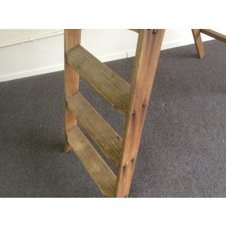 Rustic Antique Pine Mercantile Display Ladder Preview