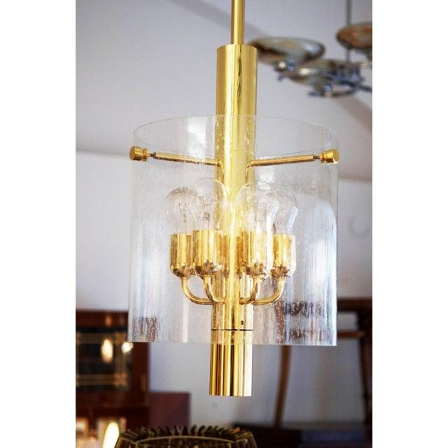 Model 4298 hanging lamp from Glashütte Limburg For Sale - Image 11 of 11