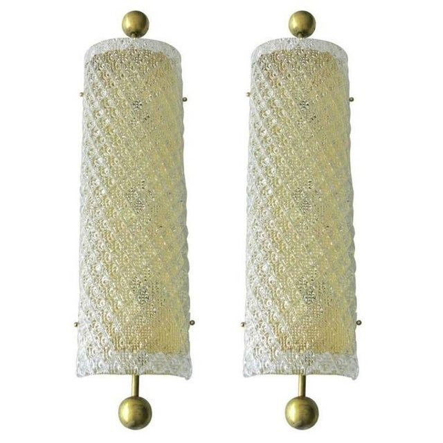 Diamante Sconces / Flush Mounts by Fabio Ltd (4 Available) For Sale In Palm Springs - Image 6 of 7