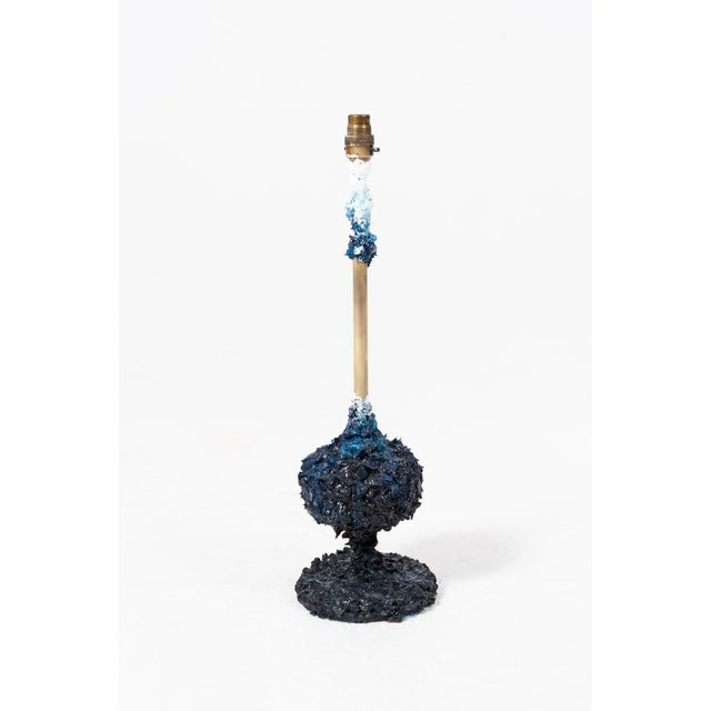 2010s Adrift, Hand-Painted Lamp by Atelier Miru For Sale - Image 5 of 6