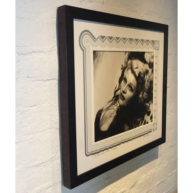 Mid-Century Modern Black and White Rita Hayward Photograph by George Hurrell For Sale - Image 3 of 9