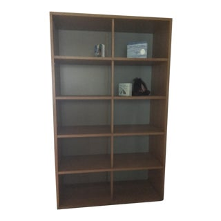 Contemporary Wooden Bookshelf For Sale