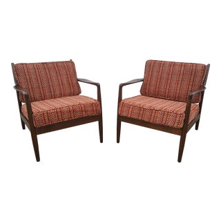 1960s Dux Folke Ohlsson Danish Lounge Chairs - a Pair For Sale