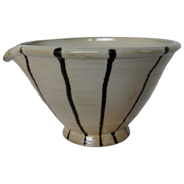 Artisan Pottery Mixing Bowl - Image 1 of 6