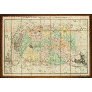 """""""Nouveau Plan De Paris"""" Map"""