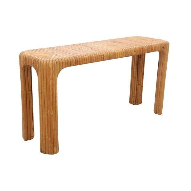 Bamboo Hall Table - Image 2 of 5