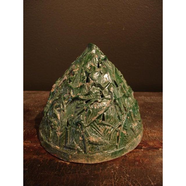 Asian A Han Dynasty Green Glazed Boshanlu Censer For Sale - Image 3 of 7