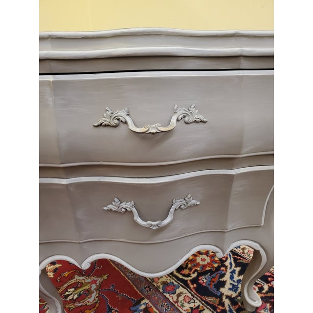 Wood Union National Painted Nightstand For Sale - Image 7 of 13