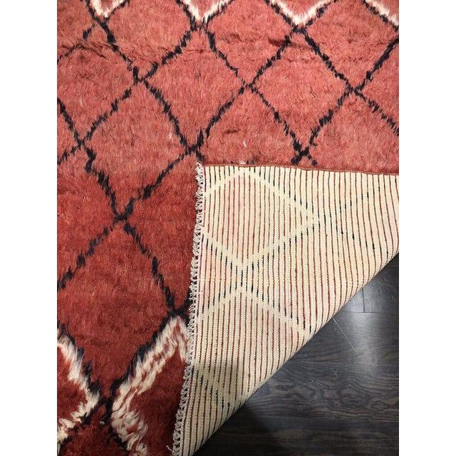 "Bellwether Rugs Vintage Azilal ""Joye"" Rug - 8' X 5'4"" For Sale - Image 4 of 5"