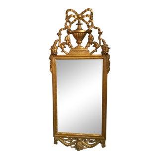 18th Century Italian Gold Gilt Mirror For Sale