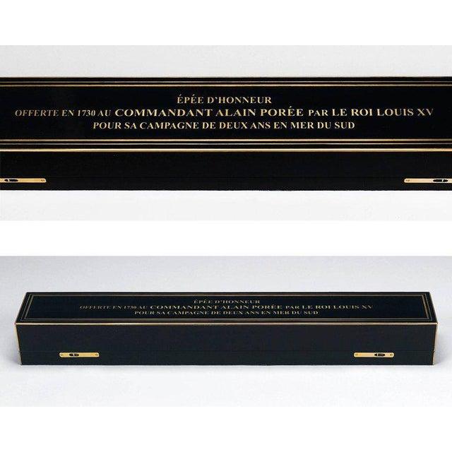 Gold Leaf Louis XV Royal Presentation Sword For Sale - Image 7 of 8