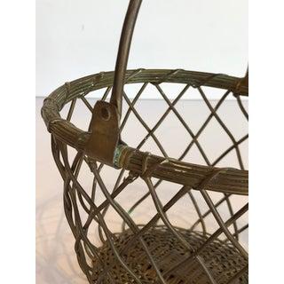 Brass Wire Basket Preview