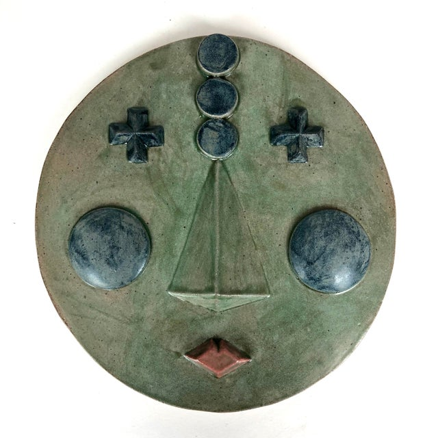 2020s 2020 Contemporary Ceramic Wall Hanging 'Suri' by Keavy Murphree For Sale - Image 5 of 5