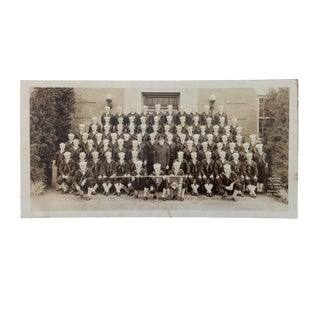 U S Navy Americana Photo of Sailors at Norfolk 1942 For Sale