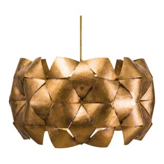Chris Rucker, Hammered Bronze Pendant Light, USA, 2017