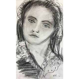 Lara Woman Sketch #1 For Sale