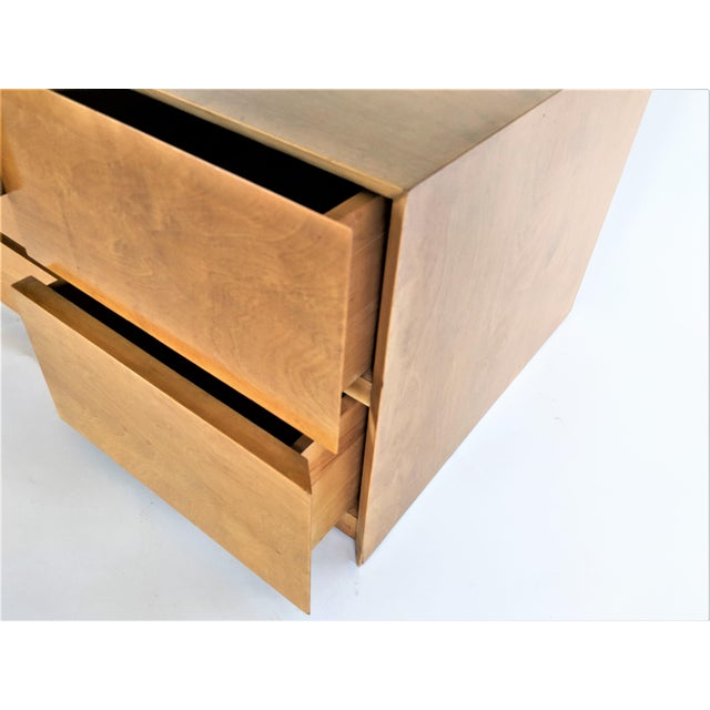 Edmond Spence Cabinet in Maple For Sale In Miami - Image 6 of 8