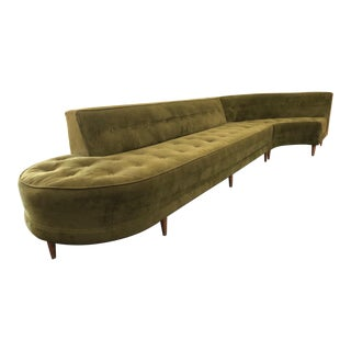 1950s Jay Spectre Custom-Designed 1954 Sofa - Set of 3 For Sale