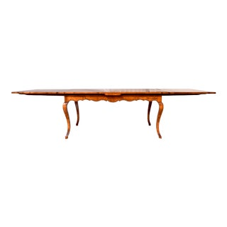 Baker Furniture Milling Road Country French Farmhouse Dining Table For Sale