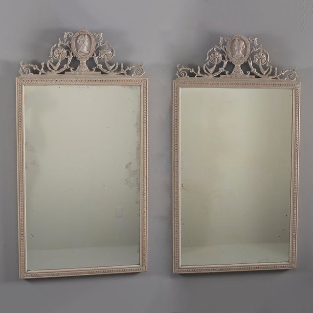 19th Century Directoire Mirrors - a Pair For Sale - Image 12 of 12